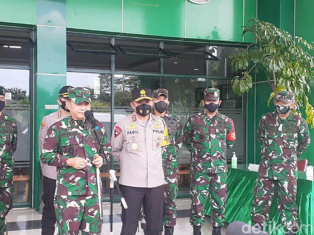Sambut Kapolda Metro Jaya, Pangdam: TNI-Polri Bak Saudara Kembar