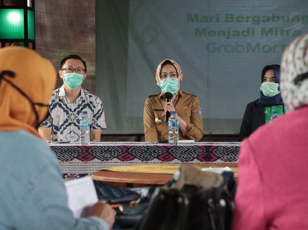 Pemkot Tangsel Jajaki Kerja Sama Penjualan Produk UMKM dengan Grab