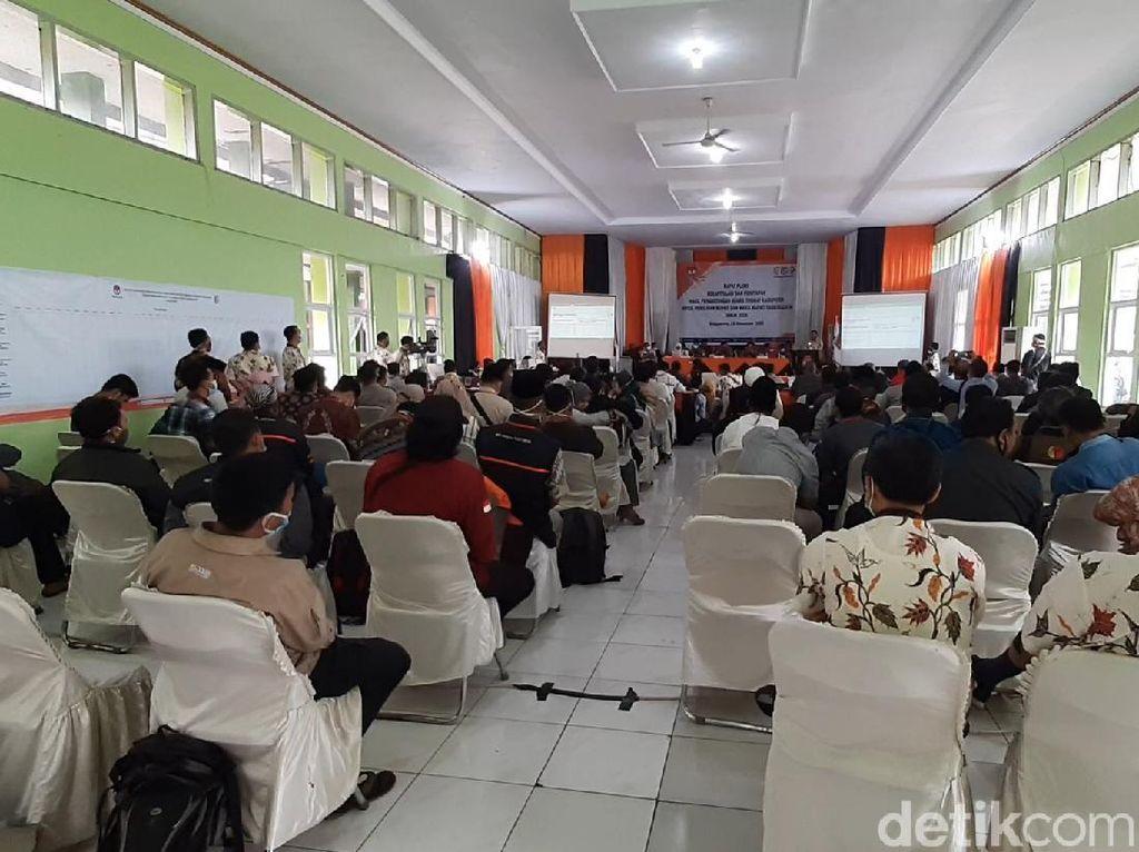 Pleno KPU Tasikmalaya Rampung, Petahana Ade-Cecep Menang