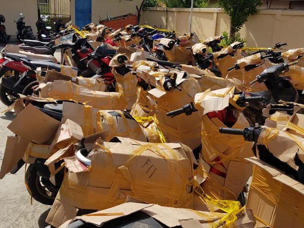 Total 46 Motor Bodong Disita Polisi di Jaktim, Mayoritas Hasil Kejahatan