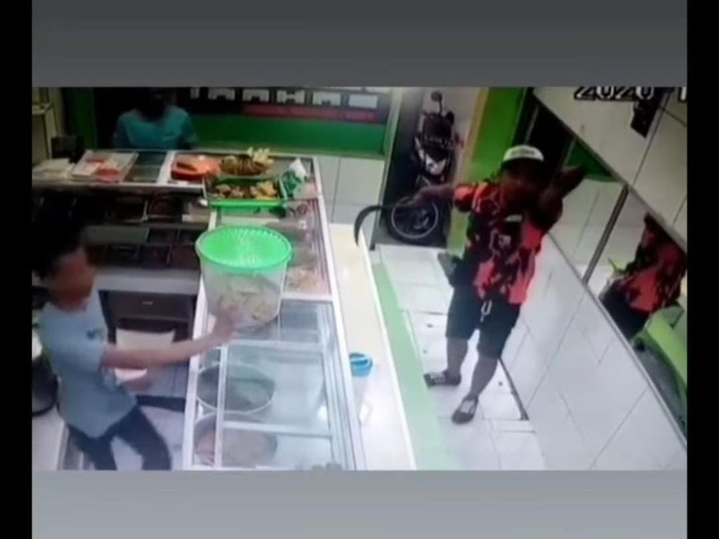 Todong Pegawai Warteg di Jakbar, Pria Berbaju Ormas Minta Uang Rp 100 Ribu