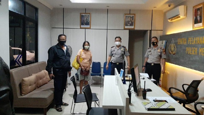Wanita yang viral hina Jokowi ditangkap (Dok istimewa)