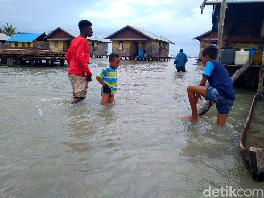 Banjir Rendam 5 Kampung di Merauke, Tinggi Air Capai 1,5 Meter