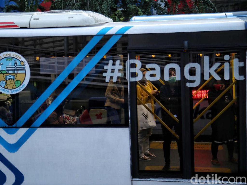 Jangan Lupa! Mulai Besok Naik TransJakarta-MRT Wajib Bawa STRP