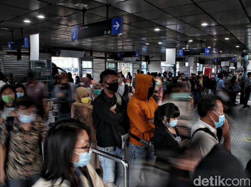Ada PSBBJawa-Bali, Jadwal KRLhingga TransJakartaBelum Berubah