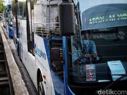PSBB Ketat Jakarta, TransJakarta Beroperasi Hingga Pukul 20.00