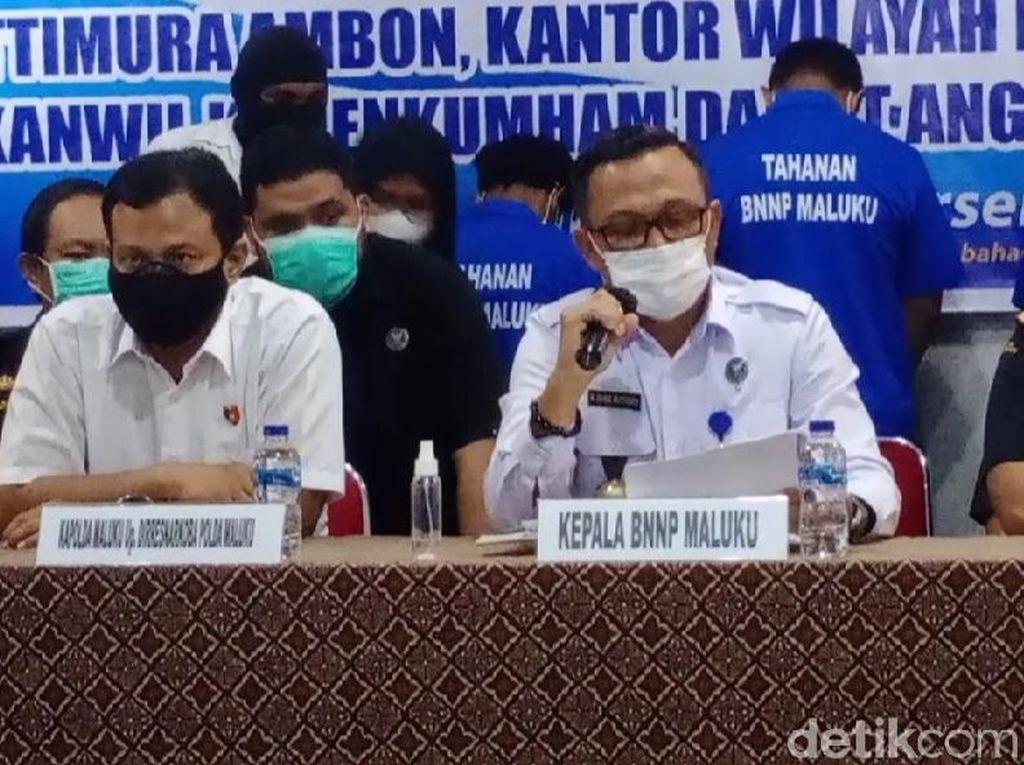 BNN Gagalkan Penyelundupan Narkoba di Bandara Ambon, 3 Orang Ditangkap