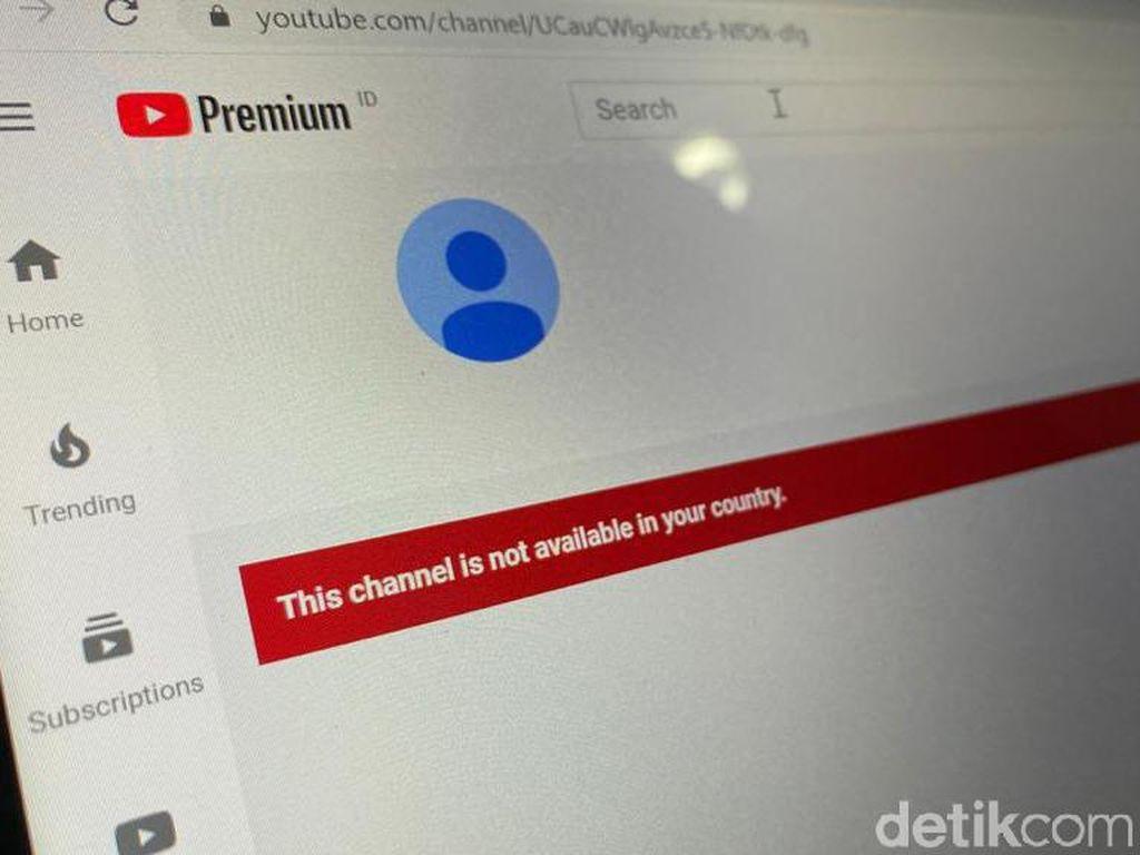 Balada Hilangnya YouTube Front TV Milik FPI
