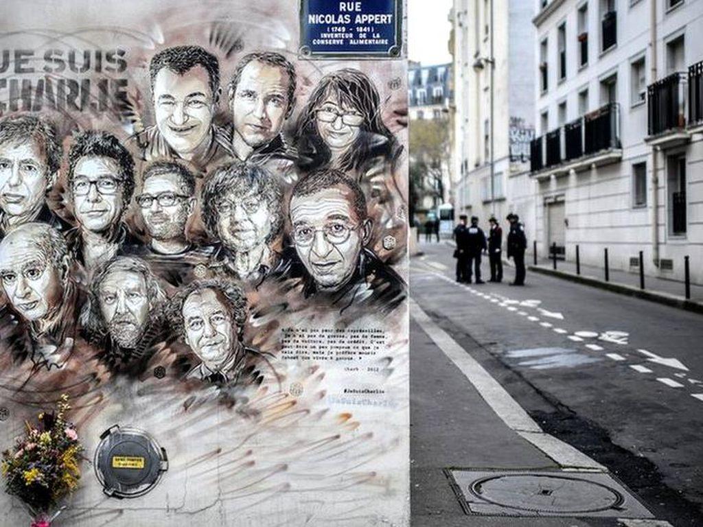 Bui 30 Tahun untuk Pelaku Penyerangan Charlie Hebdo