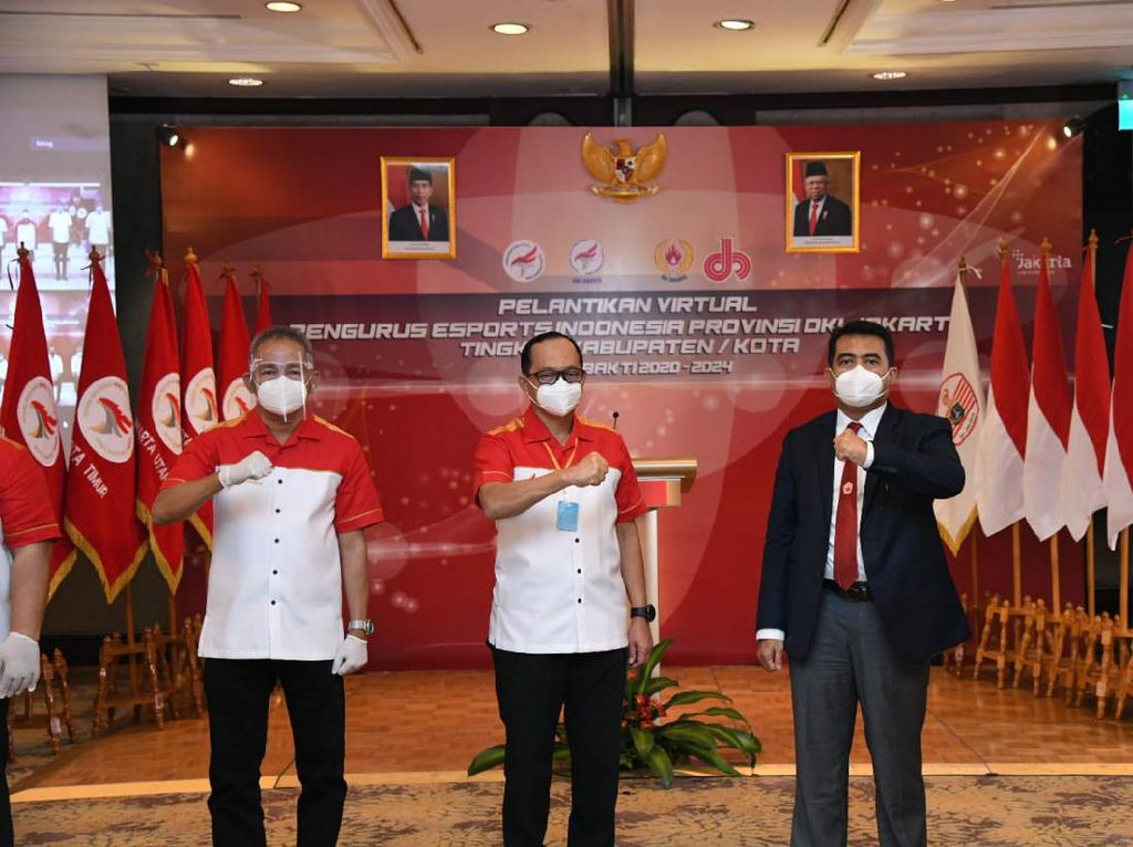 Esport Indonesia DKI Jakarta Bersiap Sambut PON 2021