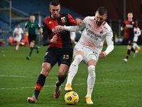 Genoa Vs AC Milan Tuntas 2-2