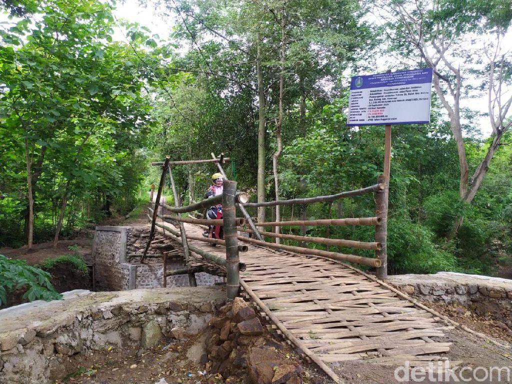 Fakta soal Jembatan Bambu yang Sempat Bikin Heboh Habiskan Dana Rp 200 Juta