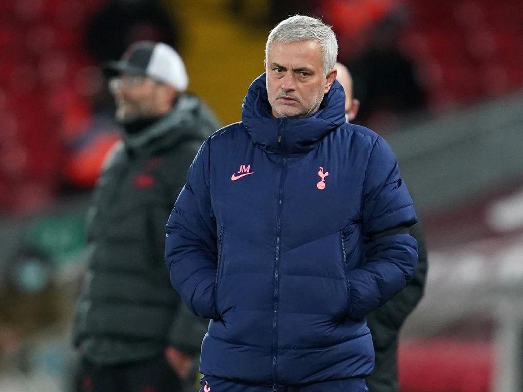 Tottenham Keok Lawan Liverpool, Mourinho: Hasil yang Tak Pantas