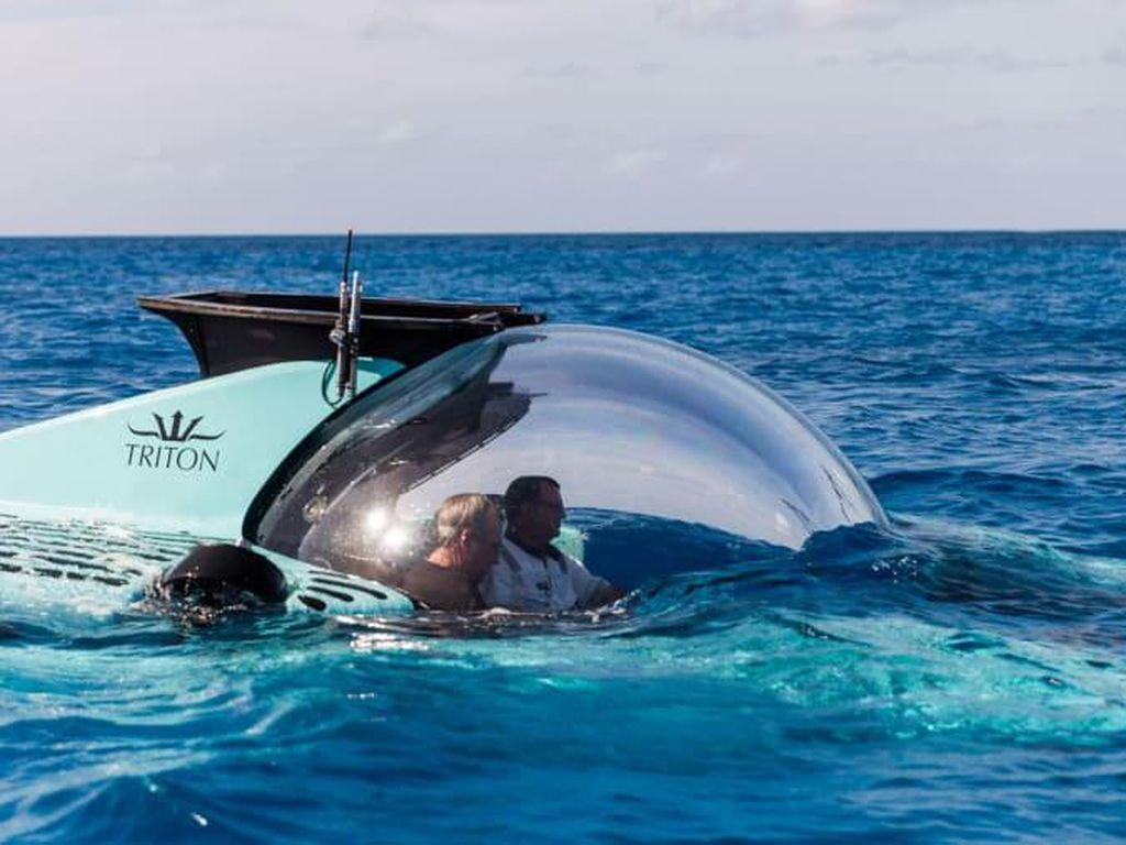 Keren, Kapal Selam Transparan Ini Dapat Jelajahi Kedalaman 1.000 Meter