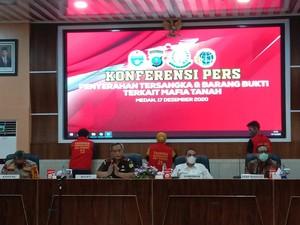Polisi Tetapkan 4 Orang Jadi Tersangka Mafia Tanah Sport Center Sumut