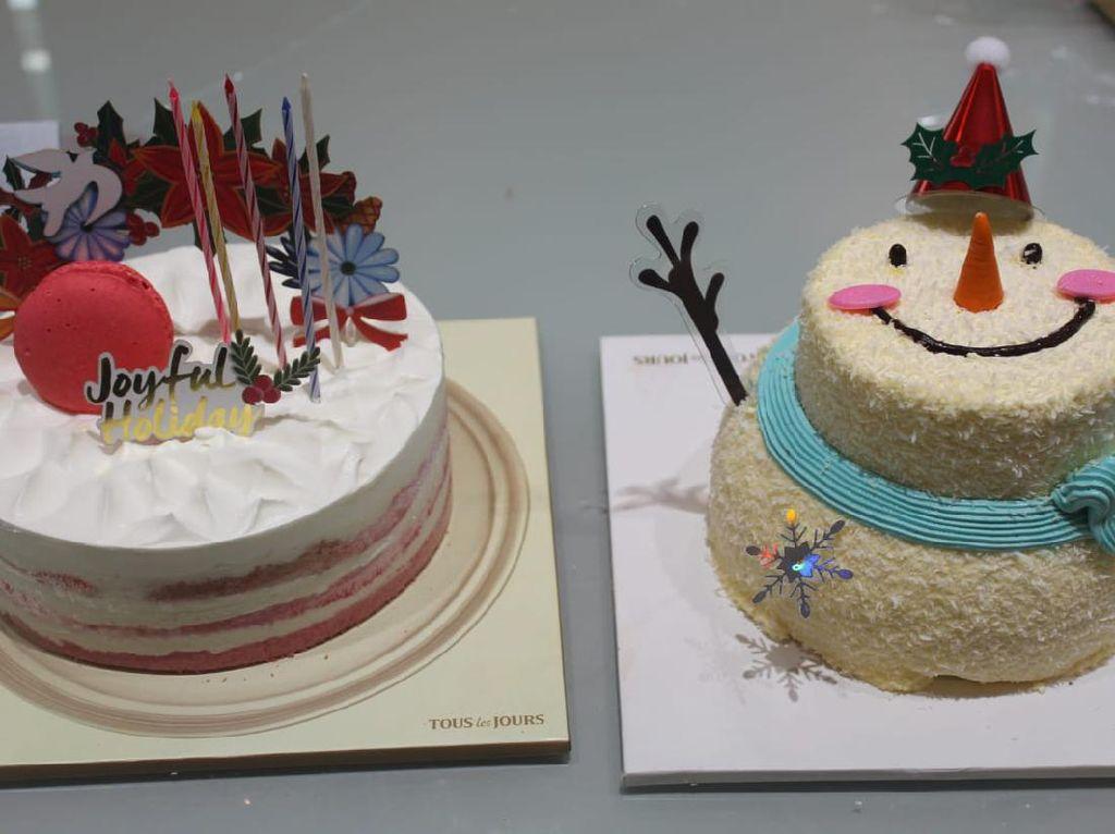 Kue Cantik Bentuk Snowman hingga Rudolph untuk Natal