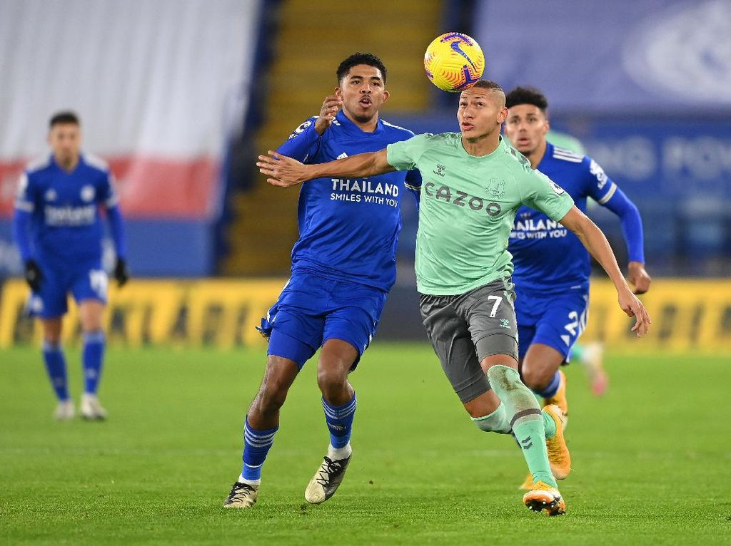 Leicester Vs Everton: The Toffees Bungkam The Foxes 2-0