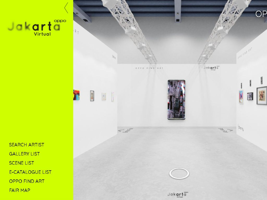 OPPO Art Jakarta Virtual 2020 Berlanjut, Ada 400 Karya Seni Terbaru