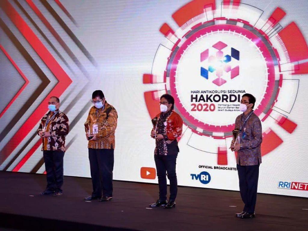 Cegah Praktik Korupsi, Pemkab Badung Rengkuh 2 Penghargaan dari KPK