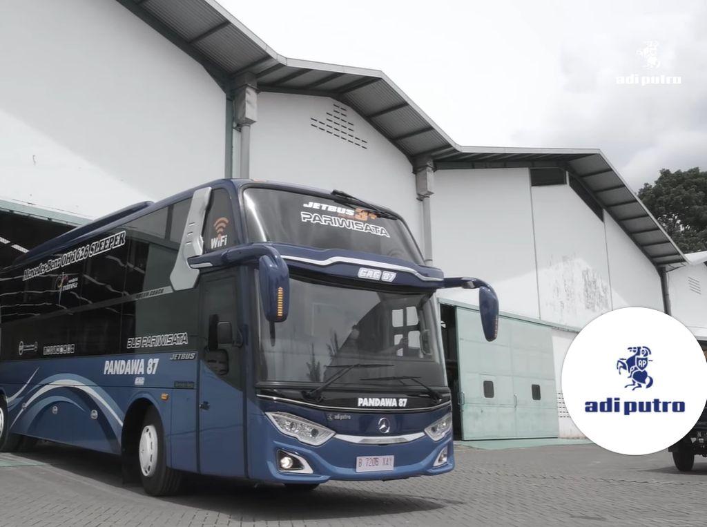 Mirip Hotel Kapsul, Begini Mewahnya Sleeper Bus Pertama Adiputro