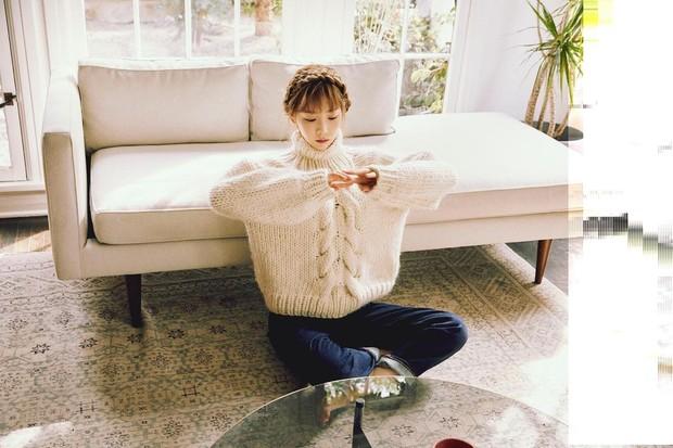 style rambut kepang Taeyeon SNSD