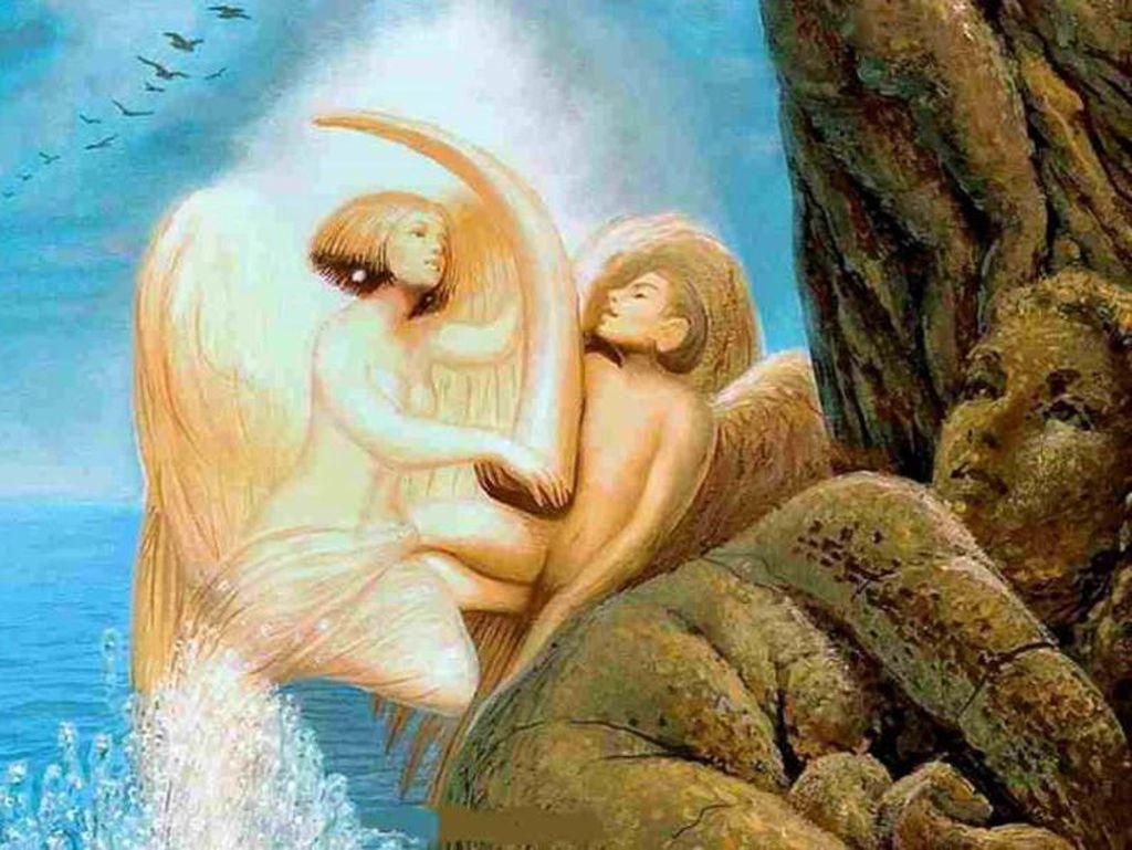 Tes Kepribadian: Wajah Wanita atau Pasangan Malaikat yang Pertama Dilihat?