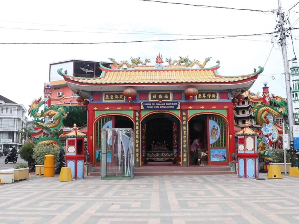 Vihara Tri Darma Raya, Potret Toleransi di Singkawang