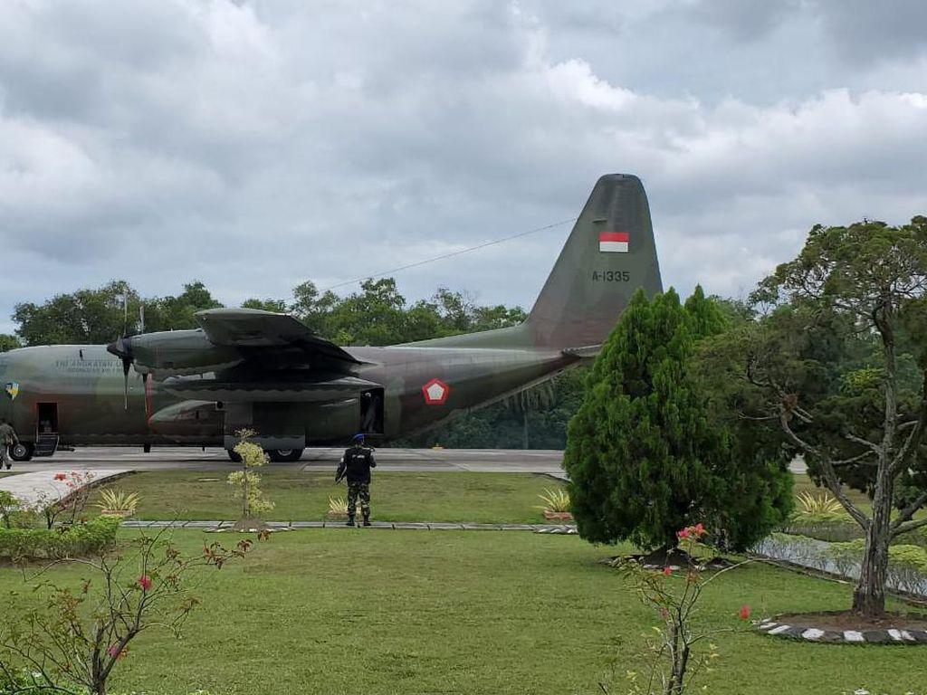 Puluhan Napi Kasus Narkoba di Riau Dipindahkan ke Nusakambangan