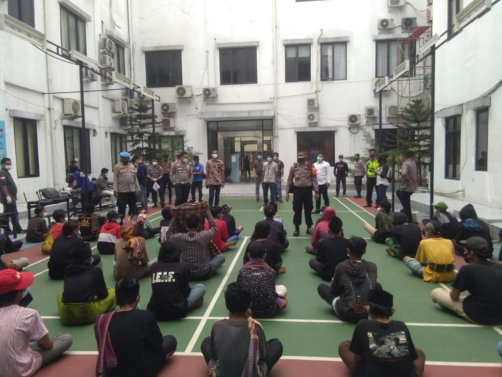 Usai Dibina, 61 Pemuda Tangsel yang Hendak Ikut Aksi 1812 Dipulangkan