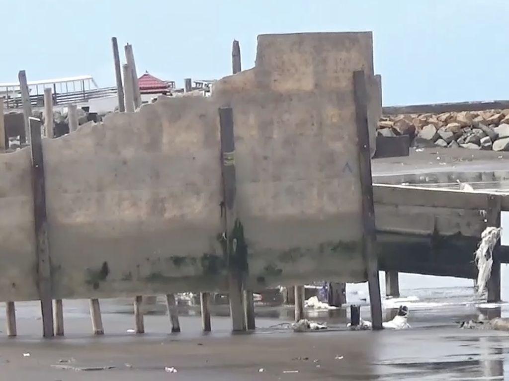 Penampakan 6 Rumah di Sulsel Hilang Tersapu Ombak