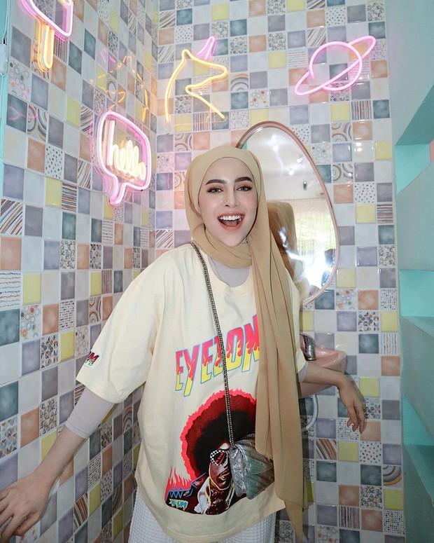 Style hijab pashmina