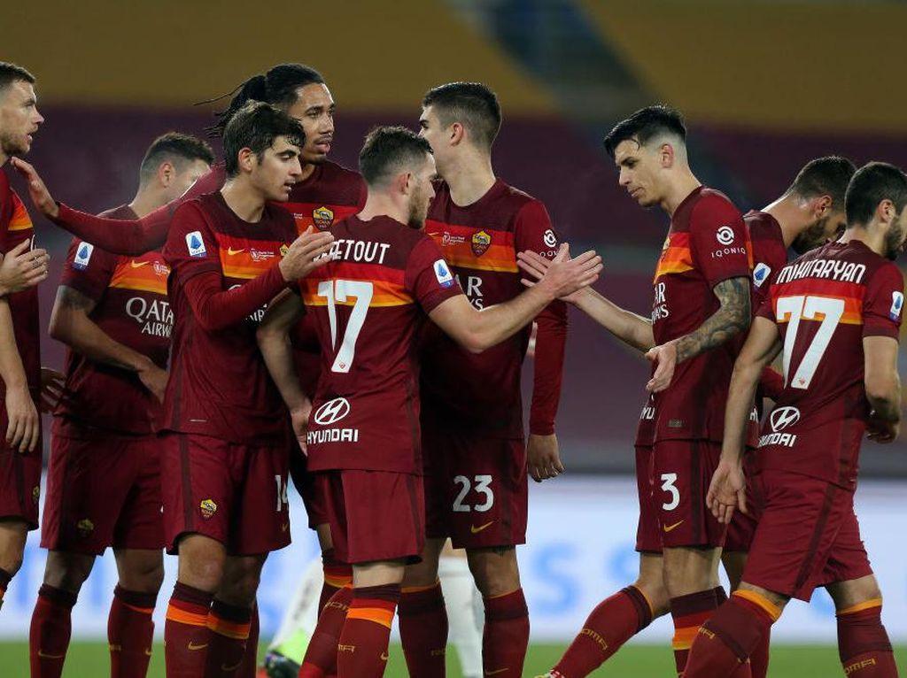 Roma Vs Torino: Menang 3-1, Giallorossi Tembus Empat Besar