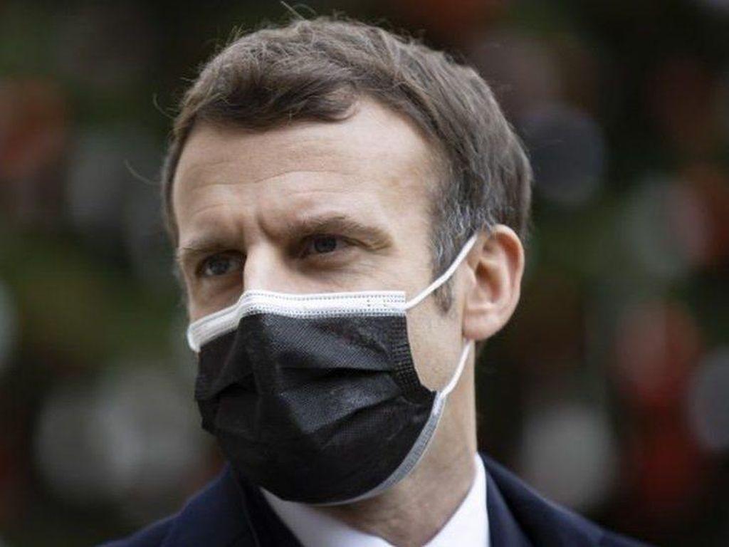 Video Presiden Macron Ungkap Kondisi Terkini Usai Positif Corona