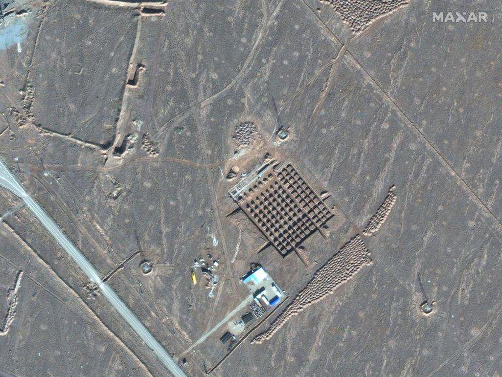 Iran Bangun Fasilitas Nuklir Bawah Tanah, Ketahuan Lewat Foto Satelit