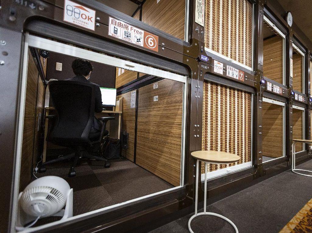 Gegara Corona, Hotel Kapsul di Jepang Berubah Jadi Coworking Space