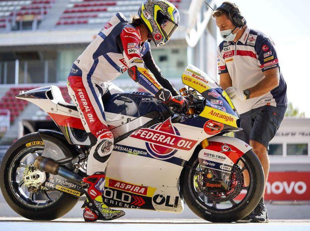 Produk Oli Asal Indonesia Perpanjang Kontrak dengan Tim Moto2