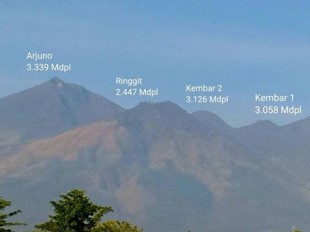 Pendakian Arjuno-Welirang Tutup hingga Tahun Baru Karena Cuaca Ekstrem