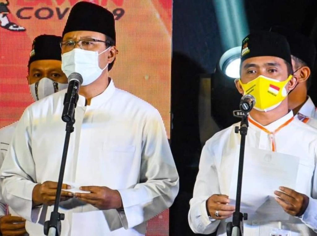 Menangi Pilkada Kota Pasuruan, Gus Ipul-Mas Adi Kalem