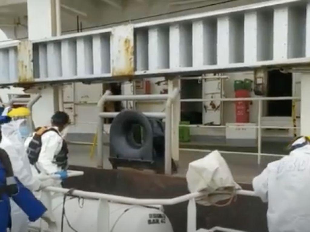 Kapal Pengangkut 650 Ton Pupuk Tenggelam di Pangkalan Bun, ABK Selamat