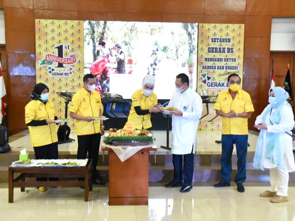 Dirikan Majelis Taklim-BS, Ketua MPR Ingin Indonesia Selalu Damai