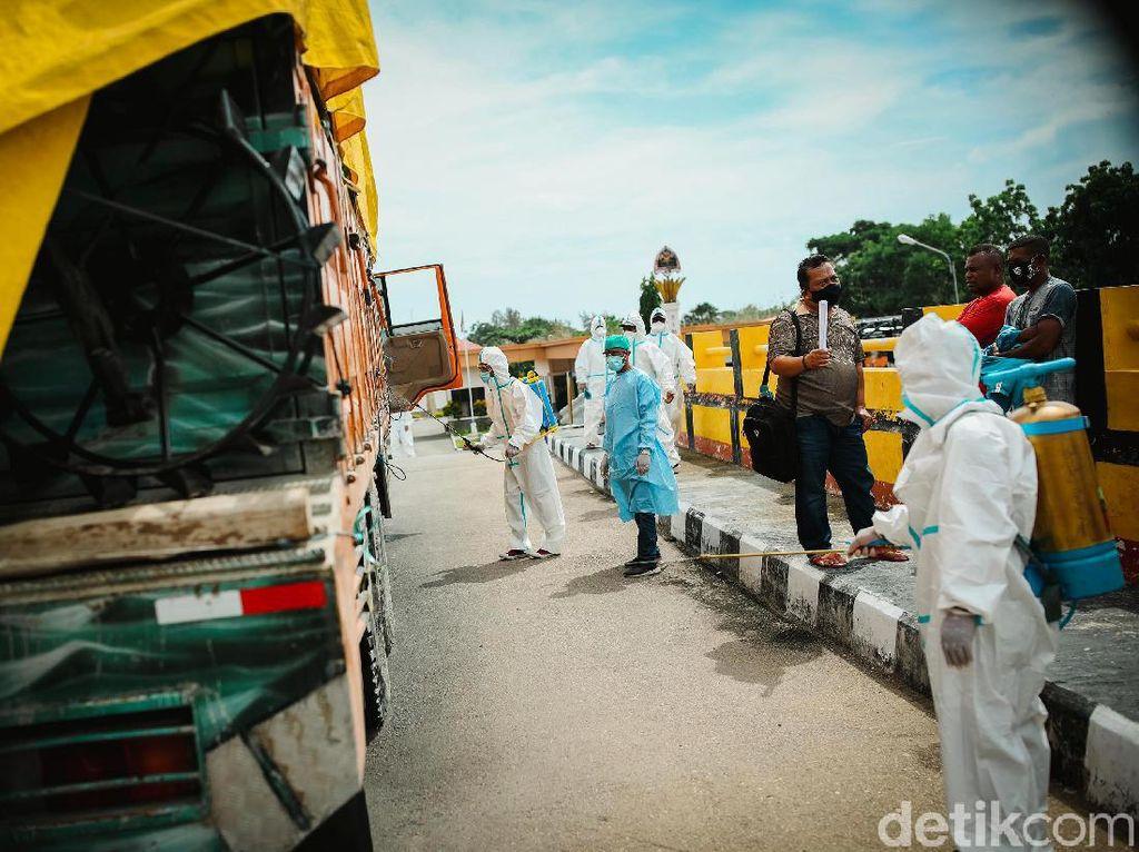 Melihat Upaya Pencegahan Penyebaran Virus Corona di Perbatasan
