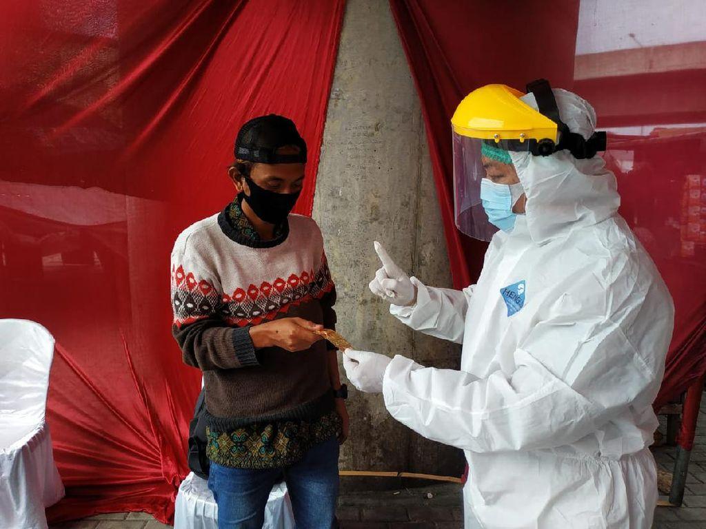 Operasi Kemanusiaan, Polres Pelabuhan Tanjung Priok Gelar Rapid Test