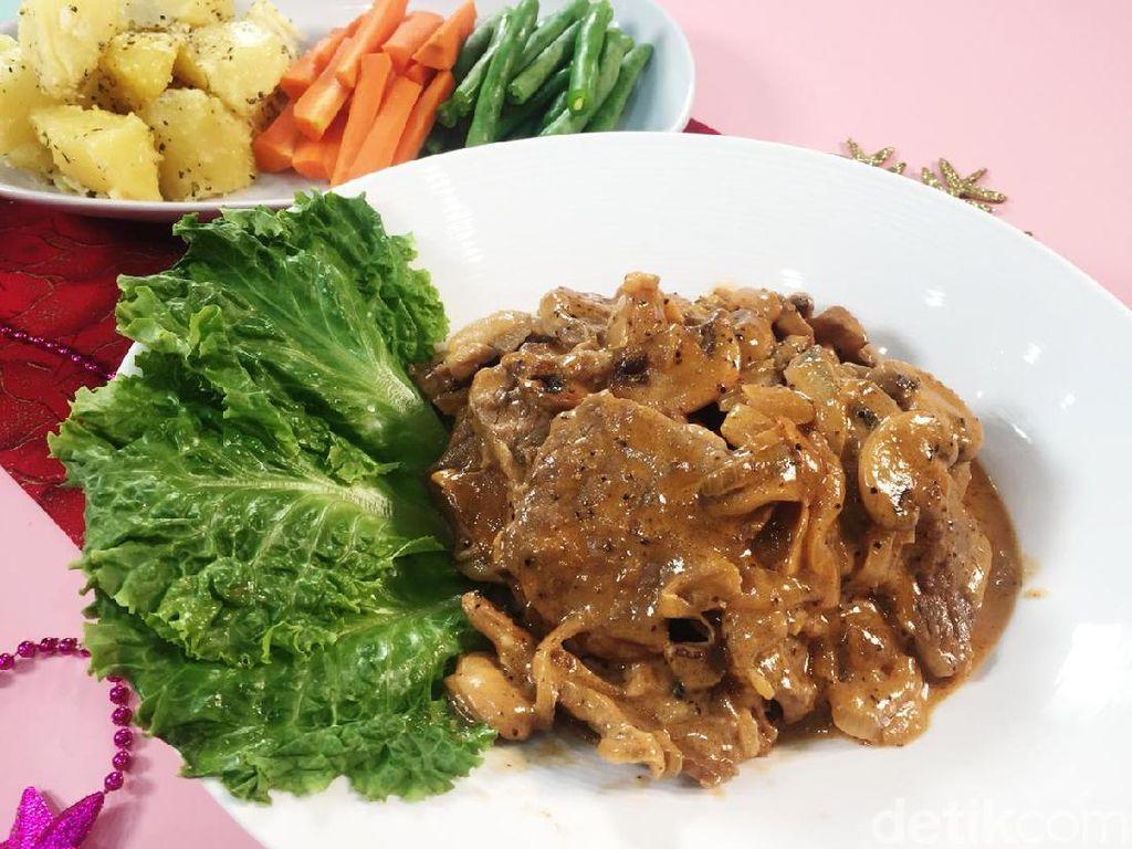 Resep Hidangan Natal: Sliced Beefsteak