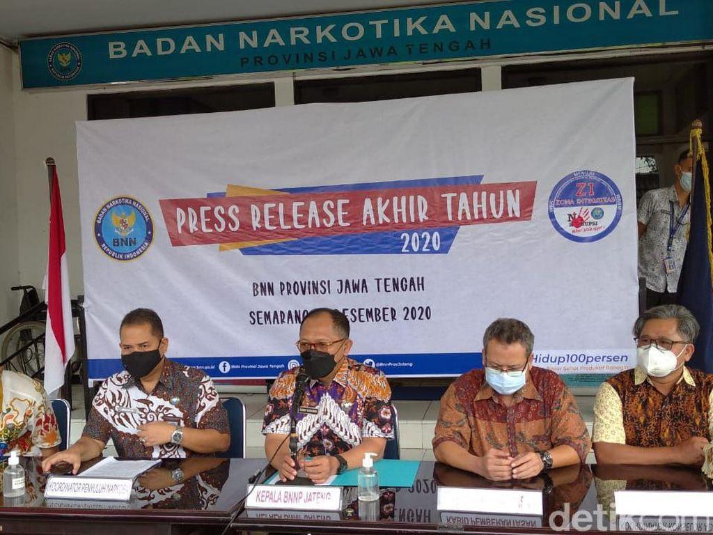 BNNP Jateng Sita Aset Miliaran Rupiah dari TPPU Narkoba