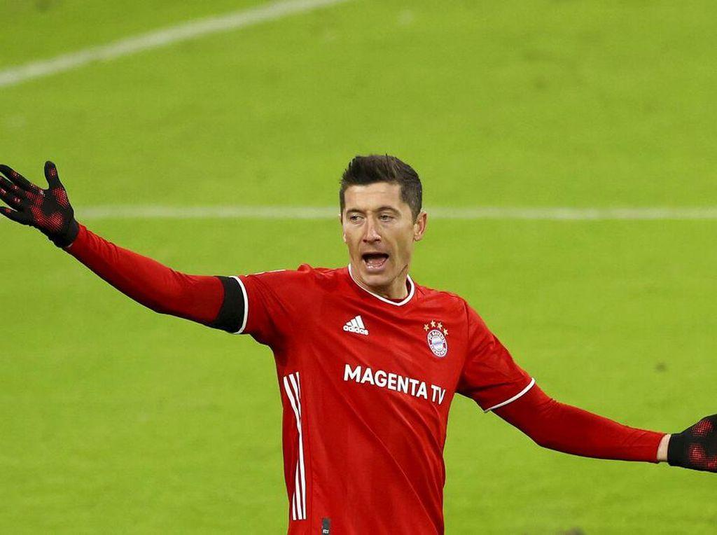 Lewandowski: Treble Gelar dan Top Scorer, lalu Pemain Terbaik FIFA