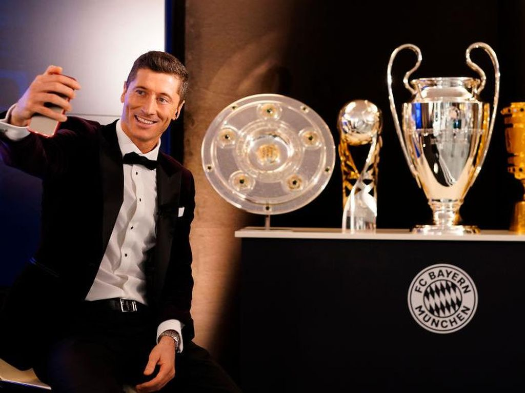 FIFA Award 2020: Lewandowski Pemain Terbaik, Kalahkan Ronaldo dan Messi