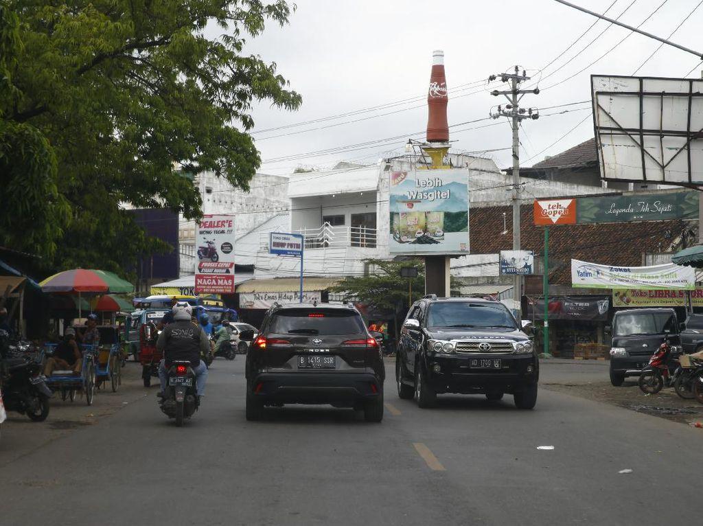 Suasana Kota Tegal, Hati-hati Banyak Pemotor Egois