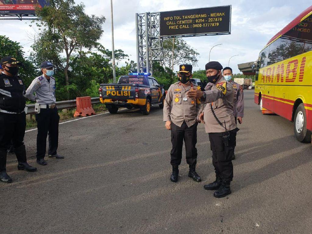 22 Titik di Banten Disekat Tahan Massa Aksi 1812 ke Jakarta