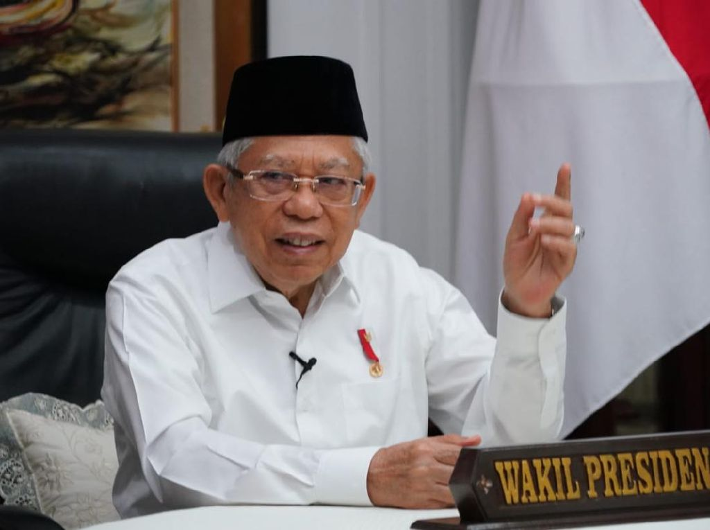Maruf Amin Harap Sosialita hingga Milenial Mau Wakaf, Caranya?