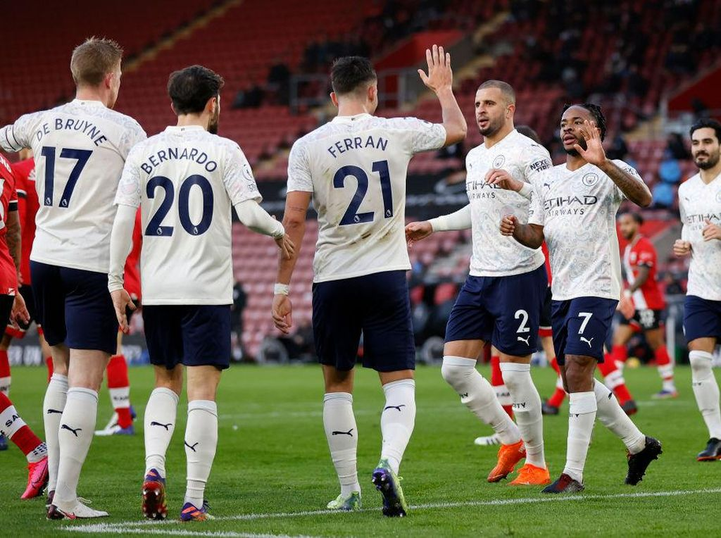 Southampton Vs Man City: The Citizens Menang Tipis 1-0
